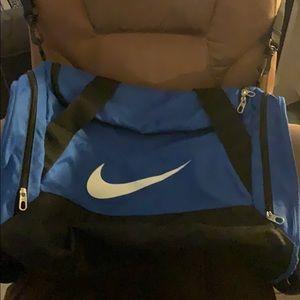 Nike blue sports bag